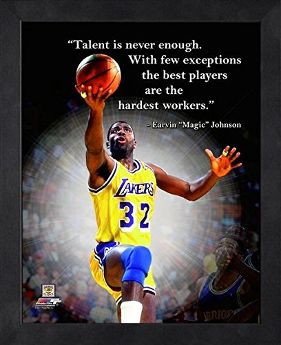 Magic Johnson quote poster